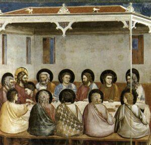 Ultima Cena / Het laatste avvvondmaal (1306) - Giotto di Bondone