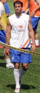 Van Nistelrooij met het Nederlands elftal