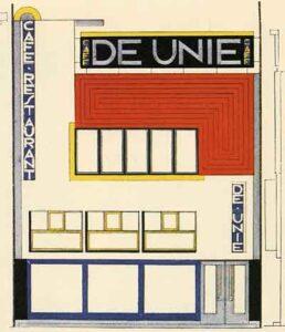 J. J. P. Oud, Café De Unie, Rotterdam