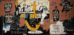 Untitled (History of the Black People) (1983) - Jean-Michel Basquiat