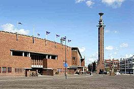 Olympisch Stadion van architect J. Wils in Amsterdam-Zuid
