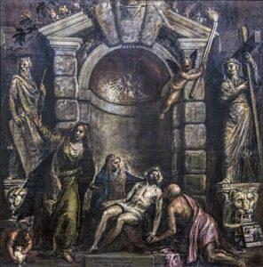 Pietà (1575-76) - Titiaan
