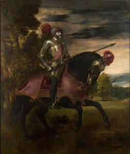 Ritratto di Carlo V a cavallo / Karel V te paard (1548) - Titaan