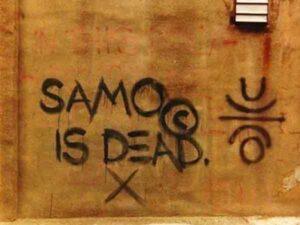 SAMO Graffiti (1980) - Jean-Michel Basquiat