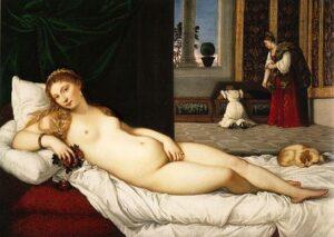 Venere di Urbino / Venus van Urbino (1538) - Titaan