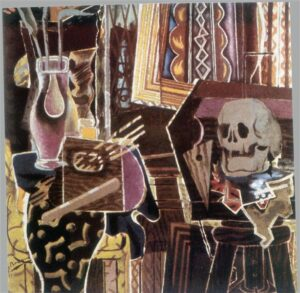 Balustre et crâne (1938) - Georges Braque