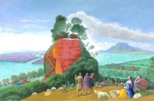A Bigger Message (2010) - David Hockney
