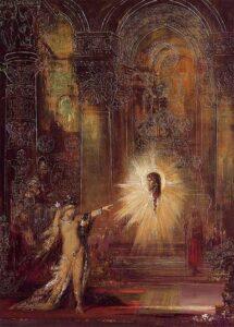 L'Apparition / De verschijning (1876) - Gustave Moreau