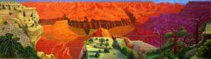 A Bigger Grand Canyon (1998) - David Hockney