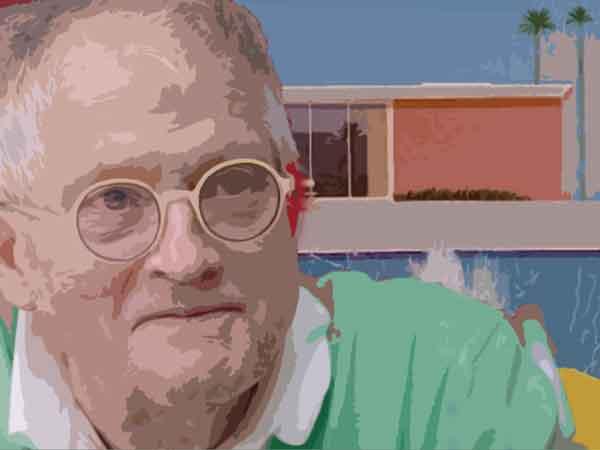 Beroemdste schilderijen van David Hockney