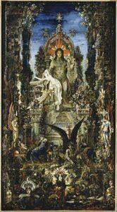 Jupiter et Sémélé / Jupiter en Semele (1894 - 1895) - Gustave Moreau