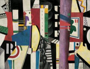 La Ville / De stad (1919) - Fernand Léger