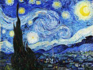Vincent van Gogh's De Sterrennacht in 3D