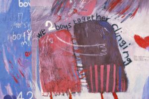 We Two Boys Together Clinging (1961) - David Hockney