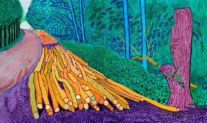 Winter Timber (2009) - David Hockney