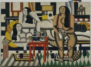 Troi femmes / Le grand déjeuner / Drie vrouwen / De grote lunch (1921) - Fernand Léger