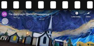 Vincent van Gogh's De Sterrennacht in 3D / VR