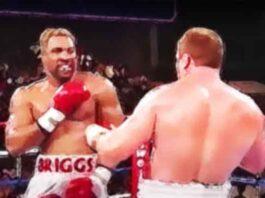 Zwaargewichten die het snels tegenstanders knock-out sloegen
