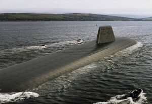 Artist's impressie van Dreadnought- klasse onderzeeër
