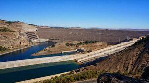 Atatürk Dam in Turkije
