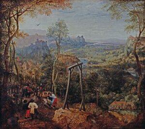 De ekster op de galg (1568) - Pieter Bruegel de Oude