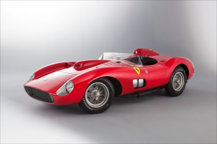 Top 10 voetballers met de duurste auto's: Ferrari 335 S Spider Scaglietti