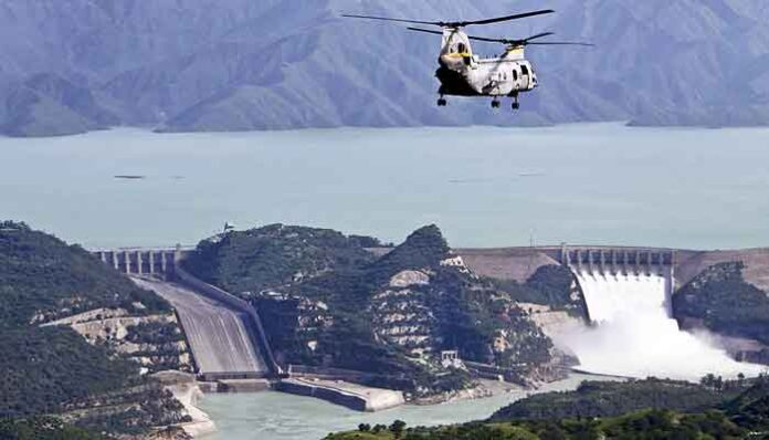Grootste dam ter wereld: de Tarbela Dam in Pakistan