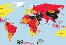 Top 180 landen en persvrijheid 2021 - World Press Freedom Index