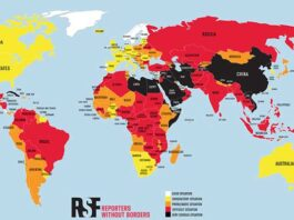 Top 180 landen en persvrijheid 2021 - World Press Freedom Index