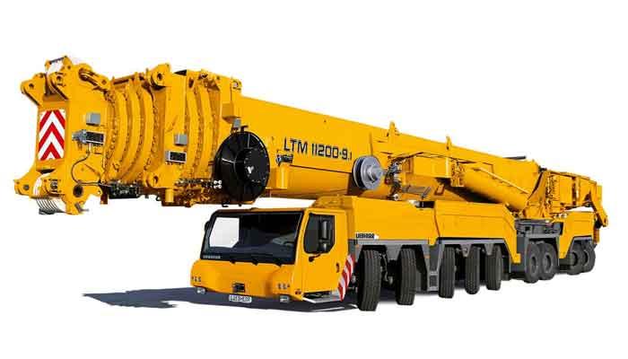 Top 10 Grootste voertuigen in de bouw ter wereld