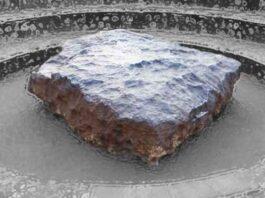 Hoba West, Grootfontein, Zuid-Afrika - Top 10 Grootste meteorieten ter wereld
