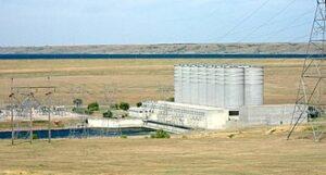 Oahe Dam in de Verenigde Staten