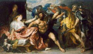 Samson en Delilah (1630) - Anthony van Dyck
