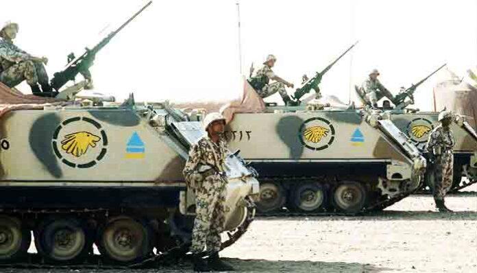 Top 10 sterkste leger in Afrika 2021