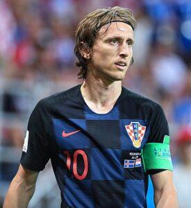 Modrić op het WK 2018