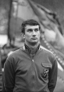 Roger Claessen in 1962 Belgie - Nederland