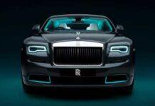 Beste luxe automerken voor 2021: Rolls Royce Wraith