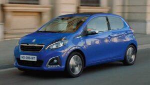 Top 9 Goedkoopste nieuwe auto's 2021 - Nr. 1. Peugeot 108 - € 12.645