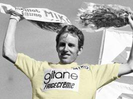 Alle Nederlandse gele trui dragers in de Tour de France